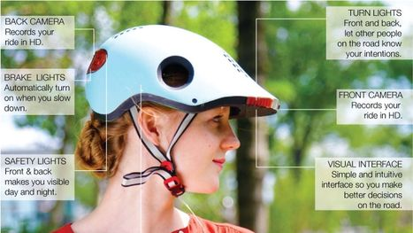 This innovative bike helmet could make cycling in traffic so much safer | The Jazz of Innovation | Scoop.it