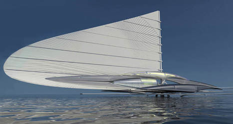 Solar powered Fresnel Hydrofoil Trimaran | Natural History, Science, & Green Technology | Scoop.it