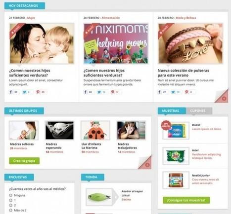 Miximoms, una nueva red social en español creada para las madres.-   Google+, Pinterest, Facebook, Twitter y mas ;)   Scoop.it