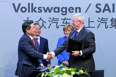 "German Paper: ""China Steals Volkswagen Patents"" 