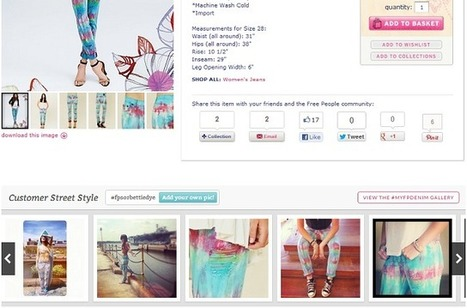 Fashion Retailer Integrates Instagram Onto Product Pages | Online Store Updates | Scoop.it