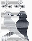 Couple Birds Love ASCII Text Art | Cool ASCII Text Art 4 U | ASCII Art | Scoop.it