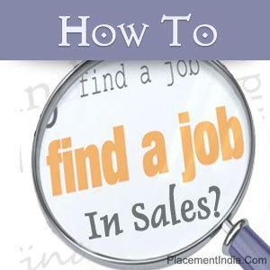 How To Find A Job In Sales. | Placement India | Scoop.it