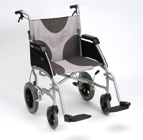 Ultra Lightweight Aluminium Self Propel and Transit - 20inch wide seat - Bariatric   wheelchair parts and accessories   Scoop.it