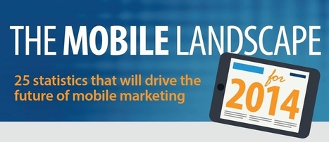 The 2014 Mobile Landscape: 25 Statistics That Will Drive The Future of Mobile Marketing [Infographic] - Search Engine Journal | Mobile Marketing Strategy | Scoop.it