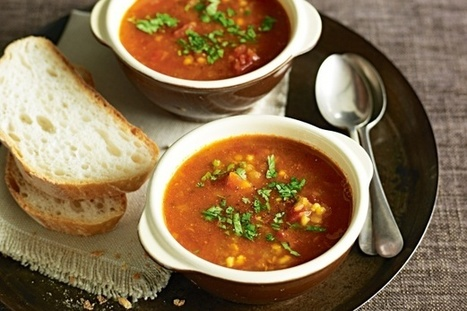 Indian Spiced Red Lentil Soup Recipe | CE Wholesome Living | Scoop.it