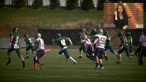 Gallaudet football feels the love - WCSH-TV | I think therefore I am Deaf | Scoop.it