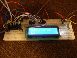 DIY I2C LCD | Maker Stuff | Scoop.it