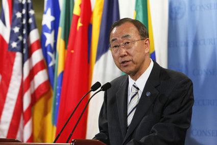 UN chief condemns violence in Egypt, urges security forces to respect human ... - UN News Centre   HSC World Order   Scoop.it