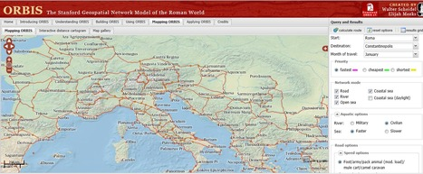 Interactive Map Lets You Travel Ancient Rome | OpenSource Geo & Geoweb News | Scoop.it