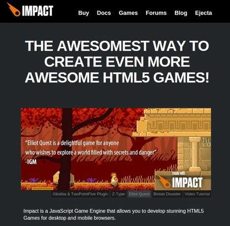 20 Wonderful HTML5 Game Engines – Which is Right For You? | digital marketing strategy | Scoop.it