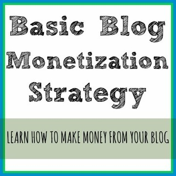 Basic Blog Monetization Strategy - More from Your Blog | blogging | Scoop.it