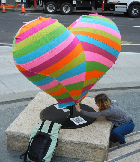 Jessie Hemmons: Street Artist & Yarnbomber | Avant-garde Art & Design | Scoop.it