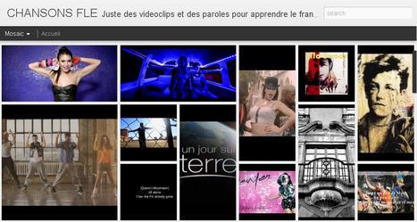 Web Navigations Sites:  Chansons FLE   Mes meilleures pages   Scoop.it