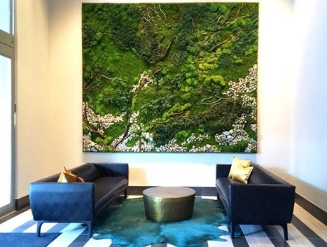 Eco-Friendly Botanical Wall Art Brings the Self-Sustaining Beauty of Nature Indoors | Le It e Amo ✪ | Scoop.it