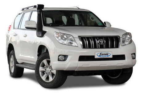 Safari Snorkel System for the Toyota 150 Series Land Cruiser Prado | To the Kimberleys and back | Scoop.it