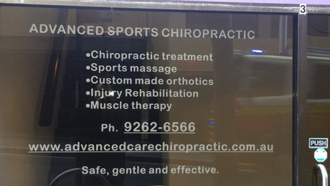 Advanced Sports Chiropractic | Advanced Sports Chiropractic | Scoop.it
