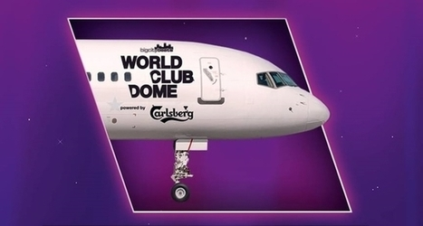 Finally, there's a club on an international flight | DJing | Scoop.it