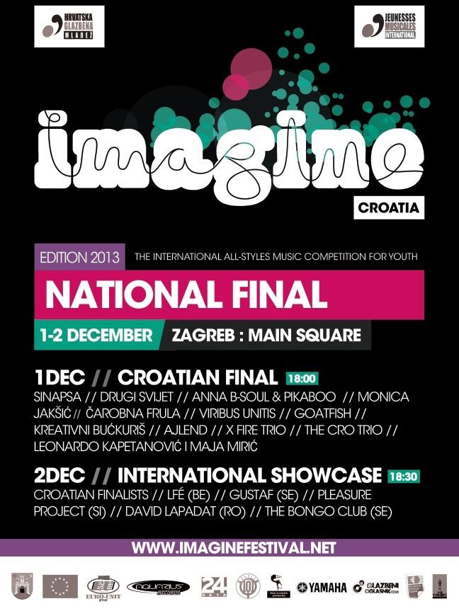 JM CROATIA: Imagine Croatia National Finals and International Showcase in Zagreb