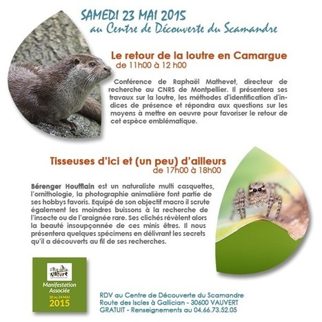 La Fête de la Nature en Camargue Gardoise | Fiches nature ClC | Scoop.it