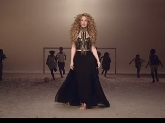 "Shakira's World Cup Anthem ""La La La (Brazil 2014)"" Gets A Football-Themed ... - Idolator: All About The Music | Spain World Cup | Scoop.it"