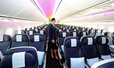 UK's first Boeing 787 Dreamliner takes passengers on inaugural flight - The Guardian | Reading Pool | Scoop.it