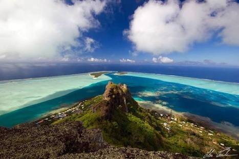 Elsa Fernicle's ascension of Mont Teurafaatui, in the island of Maupiti | TAHITI Le Mag | Scoop.it