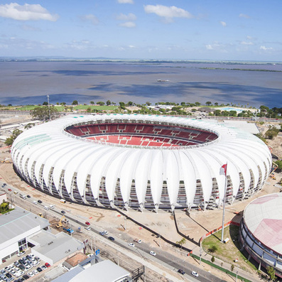 Santini & Rocha Arquitetos modernises Beira-Rio Stadium | Architecture and Architectural Jobs | Scoop.it
