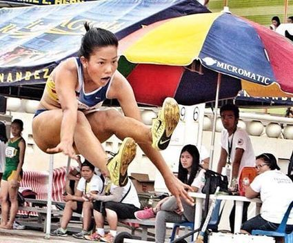 University Games Highlights Dolloso 6.02m Long Jump - Pinoyathletics.info | Philippines Track and Field | Scoop.it