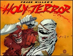 Comic Review: Frank Miller's Holy Terror… Sad to see the great ones fall likethis…. | Comic Book Reviews | Scoop.it