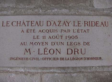 Hommage à M. Léon Dru, Château d'Azay-le-Rideau, 15 avril 2007 | Famille Louis-Georges Mulot | Scoop.it