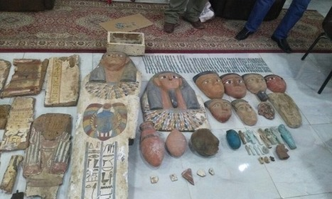 464 Egyptian artefacts seized by police in Fayoum | Heritage in danger (illicit traffic, emergencies, restitutions)-Patrimoine en danger | Scoop.it