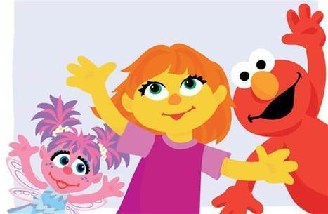 'Sesame Street' introduces first character with autism: Meet Julia   Kickin' Kickers   Scoop.it