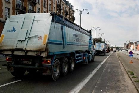 Brussels parlement keurt kilometerheffing voor vrachtwagens goed | Politiques Bruxelloises | Scoop.it