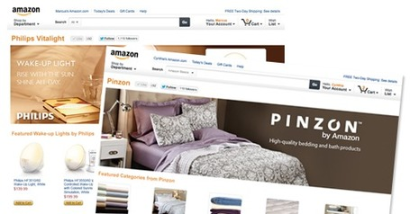 Amazon Unveils Brand Pages for Publishers - Good E-Reader (blog) | Morgen Bailey Daily | Scoop.it