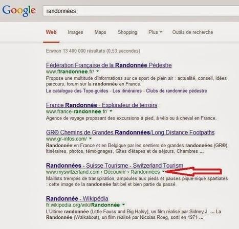 Google va-t-il remplacer L'URL affichée par le nom de domaine sur ses Pages de résultats ? - #Arobasenet   Référencements   Scoop.it