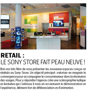 Storecheck : la newsletter Brio d'octobre 2012 est en ligne! | Retail Design Review | Scoop.it