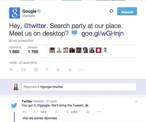 Google intègre les tweets dans les SERPs sur le bureau | Social Media Curation par Mon-Habitat-Web.com | Scoop.it