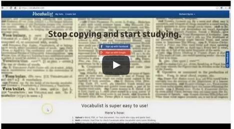 Practical Ed Tech Tip of the Week - Quickly Create Vocabulary Study Sheets from Documents ^ by Richard Byrne | Into the Driver's Seat | Scoop.it