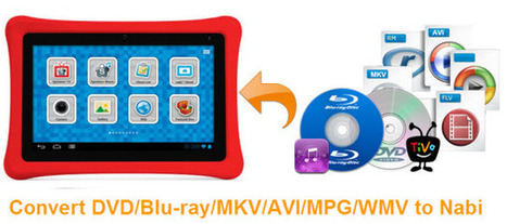 Watch DVD, Blu-ray, 1080p/720p Video on Nabi 2/Nabi Kid Tablets | Digital all | Scoop.it