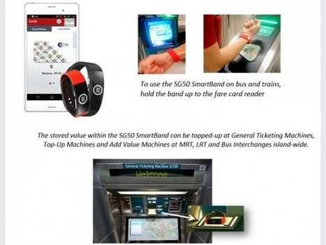 Singapore public transport commuters test wearable tech payment | Wearable Tech and the Internet of Things (Iot) | Scoop.it