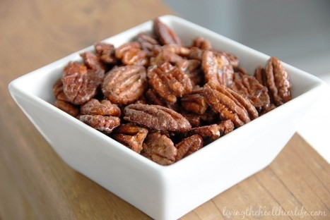 #HealthyRecipe - Maple Spice Roasted Pecans | real estate | Scoop.it