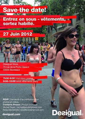 Insolite : Sous-Vêtement party à Bordeaux ! | Bordeaux : tourisme et art de vivre | Scoop.it