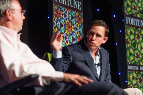 """Peter Thiel: Bitcoin Payment System """"Badly Lacking"""" 