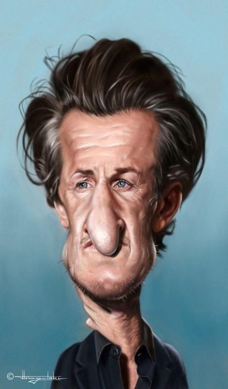 85 Celebrity Caricatures by Patrick Strogulski | Visual Loop Inspiration | Scoop.it