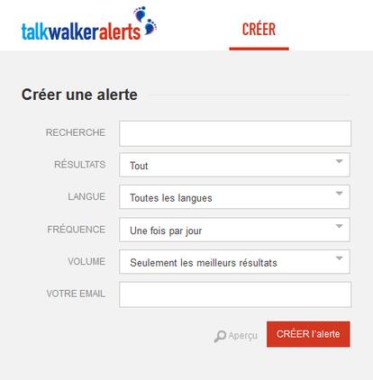Talkwalker Alertes, un outil gratuit au service de la veille | François MAGNAN  Formateur Consultant | Scoop.it