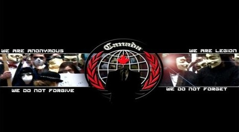 Anonymous is outright challenging (or trolling) the Canadian government - ExtremeTech | Anonymous Canada #Op Video | Scoop.it