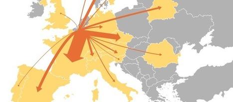 Flow Map | Visual Communication | Scoop.it