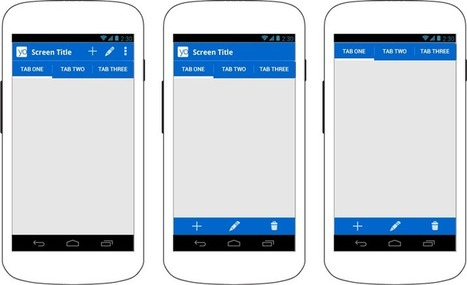 Action Bar   Android Developers   Guidelines   Scoop.it