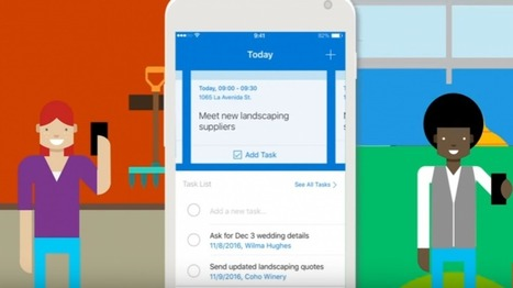 Microsoft Introduces CRM for Small Businesses with Outlook Customer Manager | Education is  the  true world | Scoop.it